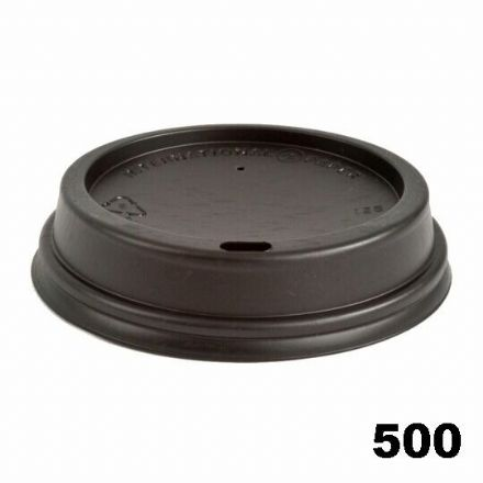 Sip Lids for 12oz / 16oz  Cups - Black 500